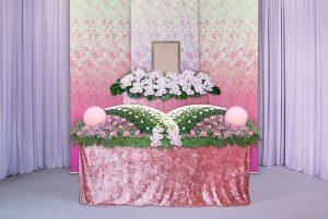 祭壇ピンク