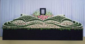 グラデーション祭壇G-15 : サイズW5,400 x H2,300 x D1,400(mm)