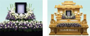 祭壇花3 : 3尺写真廻り・5尺段花