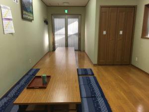開栄寺新館 遺族控室
