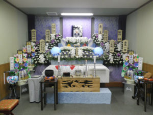 開栄寺 小ホール祭壇例
