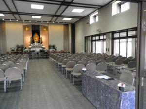 斎霊殿 ホール